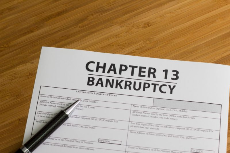 How Does Unemployment Affect Chapter 13 Bankruptcy